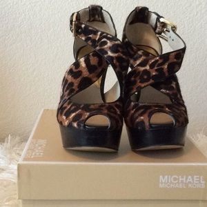 Michael Kors Shoes - MK Platform Heels